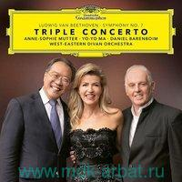 Mutter Anne-Sophie, Yo-Yo Ma Beethoven: Triple Concerto & Symphony No : Виниловая пластинка (2LP) : Арт.19-188-2275