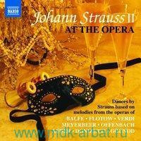 Johann Strauss II At The Opera (CD) : Арт.3-697-385