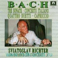 SRADIVARIUS. Bach: Sonate / Capriccio / Duetti / Concerto Italiano. Richter (CD) : Арт.3-697-1035