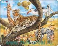 Пазл «Леопард» : Арт.maxi FH8 (ТМ Larsen)