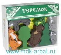Конструктор 17 деталей «Сказки.Теремок» : Арт.4534-3 (ТМ Томик)