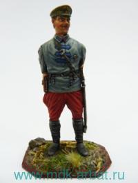 Оловянная миниатюра. Конармеец. 1922 год (ТМ First Legion)