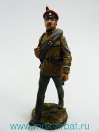 Оловянная миниатюра. Дроздовец. 1919 год  (ТМ First Legion)