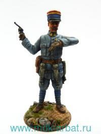 Оловянная миниатюра. Офицер. Франция 1916 год (ТМ First Legion)