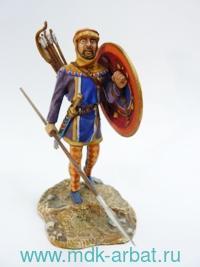 Оловянная миниатюра. Пельтаст (ТМ First Legion)