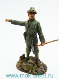Оловянная миниатюра. Альпийский стрелок. Италия 1915 год (ТМ First Legion)
