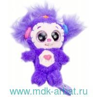 Плюшевый брелок  Минимумис Арт.048365/008365/фиолетовый