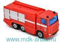 Коллекционная модель Пожарная машина : Арт.1036RUS : ТМ Siku
