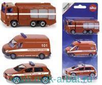 Набор коллекционных моделей «Пожарная служба» : Арт.1818RUS (ТМ SIKU)