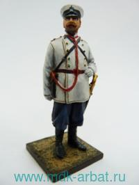 Оловянная миниатюра. Губернский городовой. Россия 1883 год (ТМ First Legion)