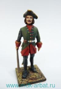 Оловянная миниатюра. Полковой профос 1720 год (ТМ First Legion)