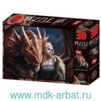 Пазл 3D «Друг или враг?» 500 элементов : Арт.10320 (ТМ Prime 3D)
