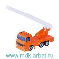Коллекционная модель Машина пожарная с вышкой : Арт.1080 : ТМ Siku