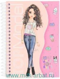 Раскраска TOPModel с блокнотом карманная : Арт.046827_S/006827_S/CandyCake (ТМ Depesche)