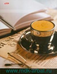 Папка А5 4 кольца «Office Style» ламинированная, картон : Арт.ПК5_07461 (ТМ Hatber)