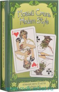 Карты игральные «Новый стиль» 55 листов : Арт.1345 (ТМ PIATNIK)