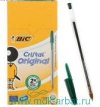 Ручка шар.зел.1 мм«Cristal» Арт.875976