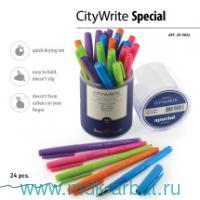 Ручка шар.син.1.0мм«CityWrite.Special»ас Арт.20-0024