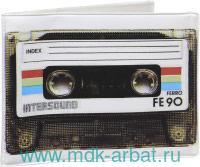 Обложка на студенческий билет «Ретро кассета» (ТМ «Kawaii factory»)