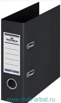 Папка-регистратор 70мм А5 «Durable»черная : арт. 828232/-3112-01 (ТМ Durable)