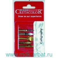 Набор перьев для каллиграфии, 5 штук : Арт.CC431 10 (ТМ Cretacolor)