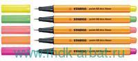 Ручка капил.0,4мм«Point 88 neon»зеленая Арт.88/033