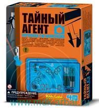 Конструктор «Тайный агент. Охранная сигнализация» : Арт.00-03246 (ТМ «4М»)