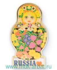 Магнит «Матрешка-малышка» : Арт.RUS000147 (ТМ Харт Трейд)