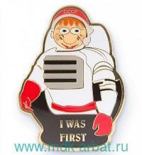 Магнит «Матрешка космонавт» : Арт.RUS000145 (ТМ Харт Трейд)