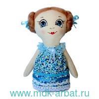 Набор для изготовления текстильной игрушки «Леночка» : арт.AM100010 (ТМ Кустарь)