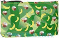 Косметичка «Кокосы-Бананы» : материал - текстиль : арт. ОРЗ-0339 (ТМ «ОРЗ-Дизайн»)