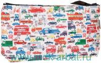 Косметичка «Машинки» : материал - текстиль : арт. Орз-0341 (ТМ «ОРЗ-Дизайн»)