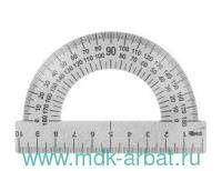 Транспортир 180° 10см металлический : арт. ТС-10-532 (ТМ Art Space)