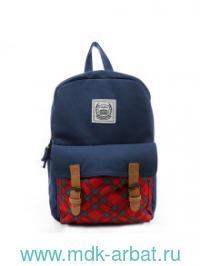 Рюкзак «Большая Шотландия», синий. Артикул 0909001 (ТМ Еж Стайл)