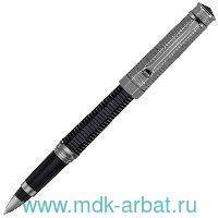 Ручка чернильная NEROUNO DUETTO акриловая смола/элементы отделки покрыты рутением, черная : Арт. NEUDR-L (ТМ Montegrappa)