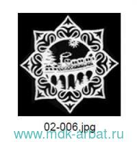 Украшение«Снежинка.Поезд»дер.бол. Арт.02-006