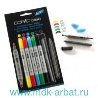 Маркеры «Copic ciao.Bright Colors», 5цв.+1 : арт. 22075550 (ТМ COPIC)