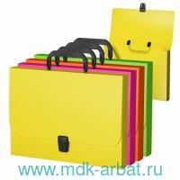 Портфель А4«Glance Neon» асс. Арт.43058