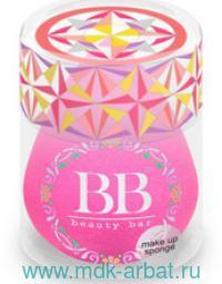 Спонж для макияжа : цвет - фуксия (ТМ «Beauty Bar»)