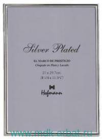 Фоторамка 13х18см серебро : арт.469-P (ТМ Hoffmann)