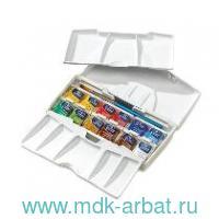 Акварель 12цветов «Cotman» pocket plus с кистью : арт.390373 (ТМ Winsor&Newton)