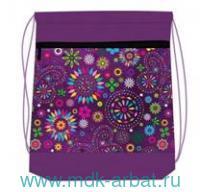 Сумка-рюкзак для обуви 35х43см «SpringColors» : Арт.336-91/517 (ТМ Belmil)