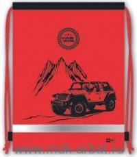 Мешок для обуви 36х48см «Красный джип» : Арт.43313 (ТМ Феникс+)