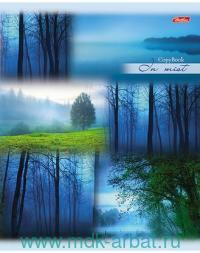 Тетрадь А5 80 листов в линейку «Пробуждение природы» скрепка : Арт.80T5B2_16422 (ТМ Hatber)