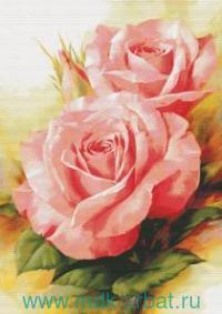 Набор для вышивания крестиком 64х91см «Королевские розы» : арт. 6080-14 (ТМ Белоснежка)
