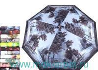 Зонт женский «Зест» 3 сложения полуавтомат : арт. 23625 (ТМ «Zest»)