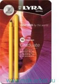 Ручки капил. 10цв.«Graduate Fine Liner» Арт.L6771100