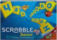 Игра настольная «Скрэббл. Junior» : арт.Y9736 (ТМ MATTEL)