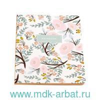 Тетрадь А5 24 листа в клетку «Tender flowers» : Арт.1070484 (ТМ Подписные издания)
