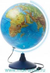 Глобус Земли физический d=400мм с подсветкой : Арт.Ке014000244 (ТМ Globen)